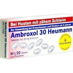 AMBROXOL 30 Heumann Tabletten