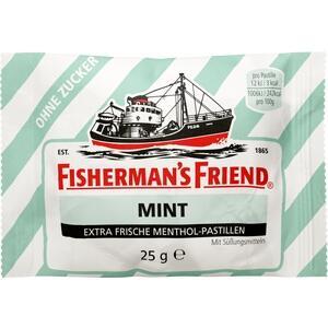FISHERMANS FRIEND mint ohne Zucker Pastillen