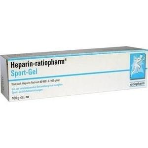 HEPARIN-RATIOPHARM Sport Gel