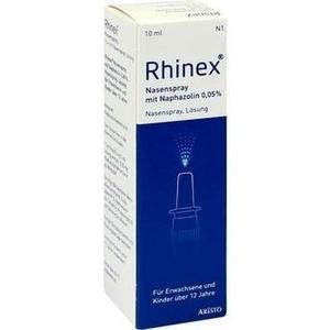 RHINEX Nasenspray + Naphazolin 0,05