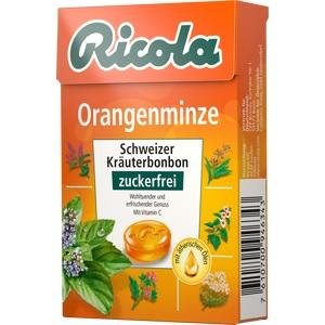 RICOLA o.Z.Box Orangenminze Bonbons