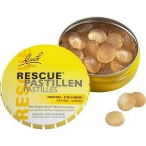 BACH ORIGINAL Rescue Pastillen Orange Holunder