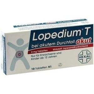Lopedium® T akut bei akutem Durchfall Tabletten