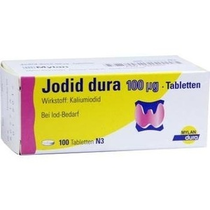 JODID dura 100 μg Tabletten