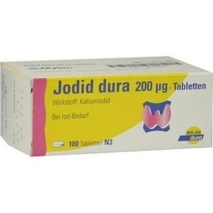 JODID dura 200 μg Tabletten