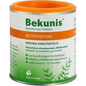 BEKUNIS Kräutertee N und Dosierlöffel
