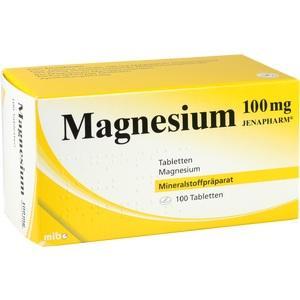 MAGNESIUM 100 mg Jenapharm Tabletten