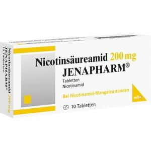 NICOTINSÄUREAMID 200 mg Jenapharm Tabletten