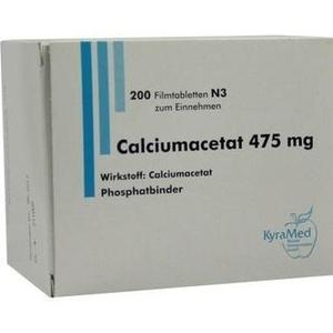 CALCIUMACETAT 475 mg Filmtabletten