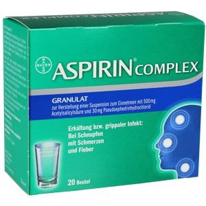 ASPIRIN COMPLEX Btl.m. Gran.z.Herst.e.Susp.z.Einn.