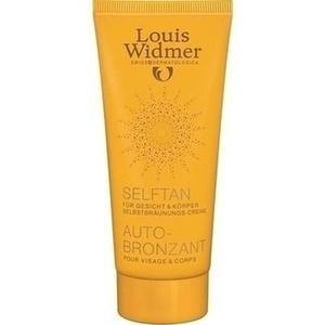 WIDMER SelfTan Lotion leicht parfümiert