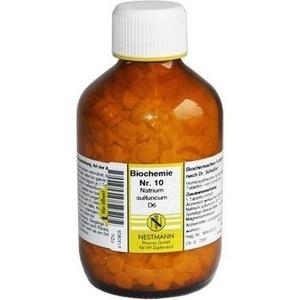 Biochemie Nestmann Nr.10 Natrium Sulfuricum D6 Tabletten