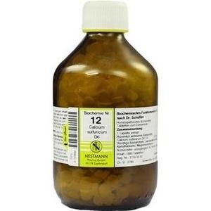 Biochemie Nestmann Nr.12 Calcium Sulfuricum D6 Tabletten