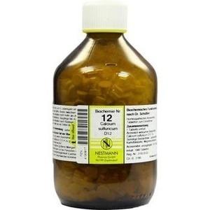 Biochemie Nestmann Nr.12 Calcium Sulfuricum D12 Tabletten