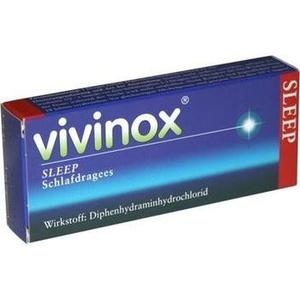 VIVINOX Sleep Schlafdragees überzogene Tab.