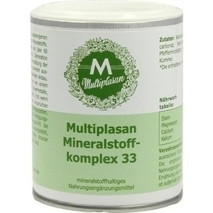MULTIPLASAN Mineralstoffkomplex 33 Tabletten