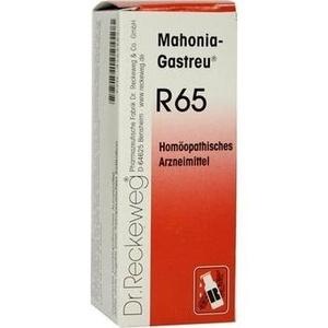 MAHONIA-Gastreu R65 Mischung