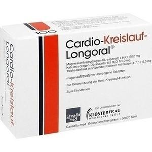 CARDIO KREISLAUF Longoral magensaftres.Tabletten