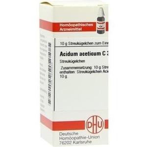 ACIDUM ACETICUM C 30 Globuli