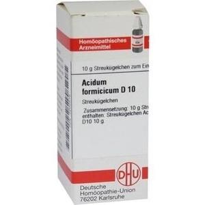 ACIDUM FORMICICUM D 10 Globuli