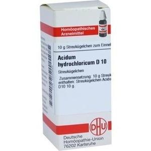 ACIDUM HYDROCHL D10