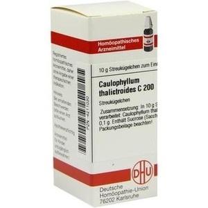 CAULOPHYLLUM THALICTROIDES C 200 Globuli