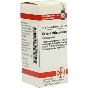 KALIUM BICHROMICUM C 6 Globuli