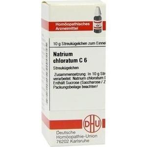 NATRIUM CHLORATUM C 6 Globuli