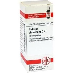 NATRIUM CHLORATUM D 4 Globuli