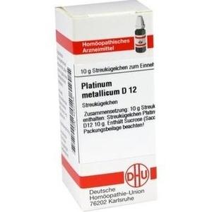 PLATINUM METALLICUM D 12 Globuli