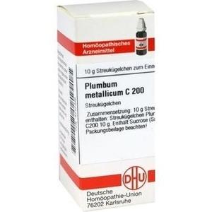 PLUMBUM METALLICUM C 200 Globuli