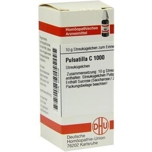 PULSATILLA C 1000 Globuli