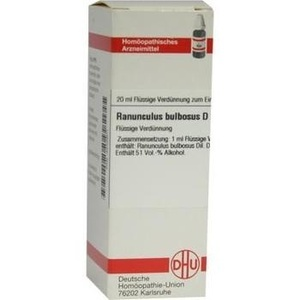 RANUNCULUS BULBOSUS D 12 Dilution