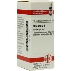 RHEUM D 6 Globuli