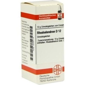 RHODODENDRON D 12 Globuli