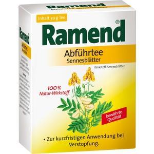RAMEND Abführtee Sennesblätter