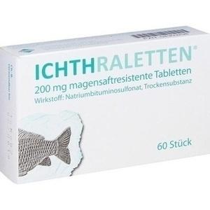 ICHTHRALETTEN magensaftresistente Tabletten