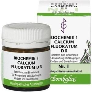Biochemie 1 Calcium Fluoratum D6 Tabletten