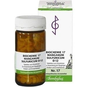 Biochemie 17 Manganum Sulfuricum D12 Tabletten
