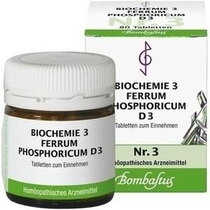 BIOCHEMIE 3 Ferrum phosphoricum D 3 Tabletten
