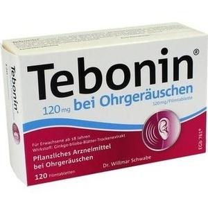 Abbildung von Tebonin 120 Mg Bei Ohrgeräuschen  Filmtabletten