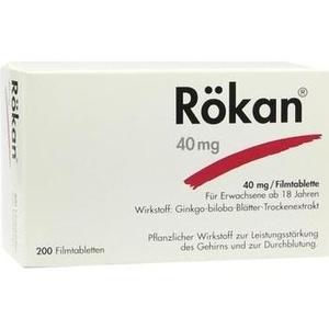 Roekan 40 mg Filmtabletten