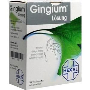 Gingium® Lösung