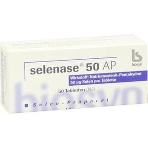 SELENASE 50 AP Tabletten