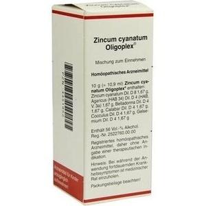 ZINCUM CYANATUM OLIPOPLEX Liquidum