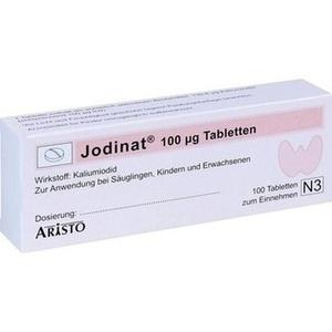 Jodinat 100ug Tabletten