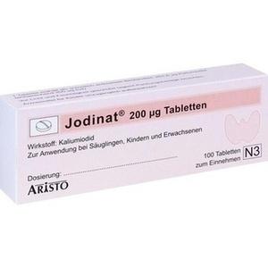 JODINAT 200UG Tabletten