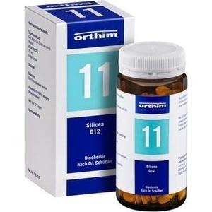 Biochemie Orthim Nr.11 Silicea D12 Tabletten