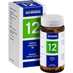 Biochemie Orthim Nr.12 Calcium Sulfuricum D6 Tabletten