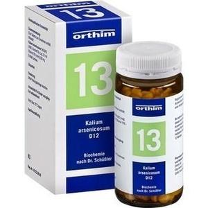 Biochemie Orthim Nr.13 Kalium Arsenicosum D12 Tabletten